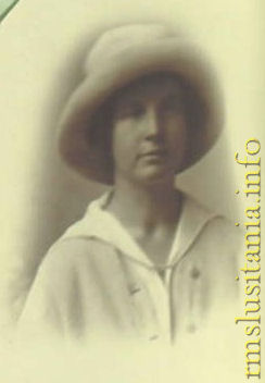 Dorothy Conner as a World War I nurse